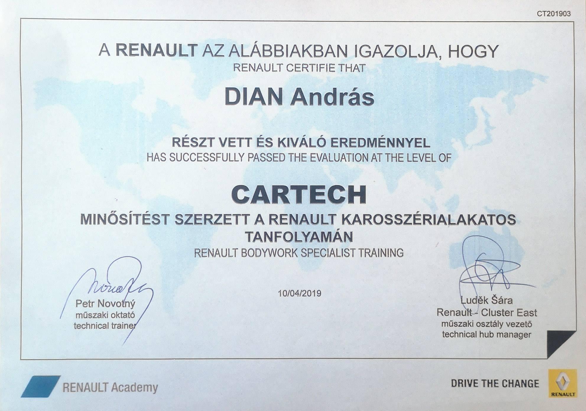 DianAndrasCartech2019