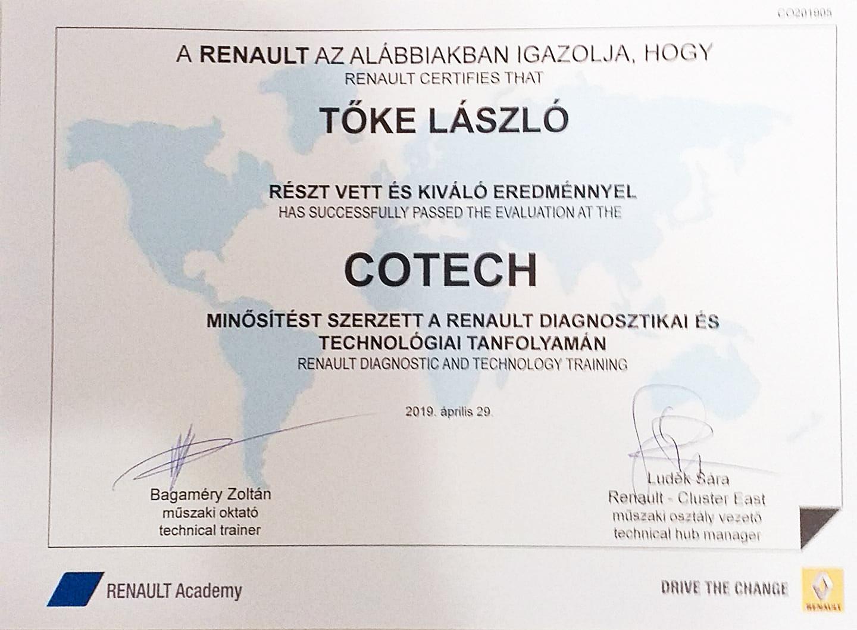 TokeLaszloCotech2019